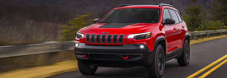 Photo d'une Jeep Cherokee 2019