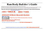 Ram Body Builder's Guide