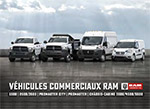 Catalogue des véhicules commerciaux Ram
